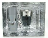 Invictus by Paco Rabanne SET: 3.4 oz.+10 ml. EDT Spray + 5.1 oz. Deo Spray New