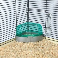 Corner Toiltet With Roof and Litter Scoop for Hamsters Mice Gerbil Trixie 6256