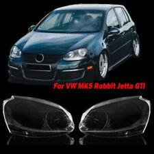 For VW MK5 Rabbit Jetta GTI 06-09 R32 Front Headlight Lens Headlamp Clear Cover