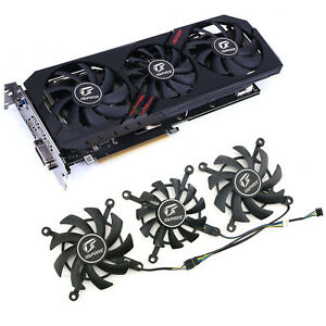 DC Cooling Fan for Colorful GTX1650 1660RTX2060 IGAME Ultra Deluxe Graphics Card