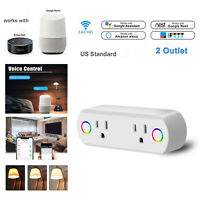 Smart Plug WiFi Socket Outlet Switch Remote Control Work With Alexa Google Home