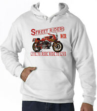 DUCATI 900 NCR RACER - NEW AMAZING GRAPHIC HOODIE S-M-L-XL-XXL