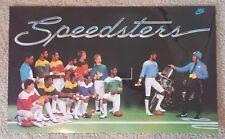 Vintage Nike Poster 'SPEEDSTERS' - 13 NFL Players Nike Poster (Collingworth)