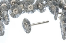 """Value Pack 12pc 7/8"""" Dia Steel Wire Wheel Brushes Die Grinder Rotary Tool #SMS79"""