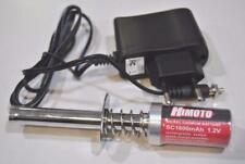 Himoto 80101 Scaldacandela con caricabatteria e batteria 1800mAh