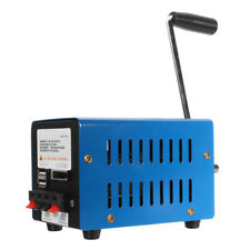 Hohe Leistung Generator Ladegerät Tragbare Not Hand Manuelle Kurbel Usb Lad L1E7