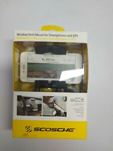 Scosche Window/vent Mount For  Smartphone and GPS.,  new