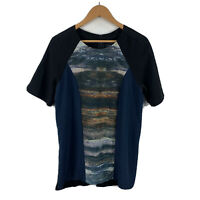 Zara Special Edition Womens T Shirt Top Size Large Short Sleeve Multicoloured