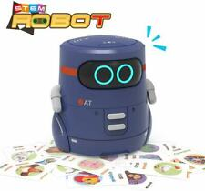 Educational Robot Toy,Dance,Sing, Guess Card Game, Speak Like You, Touch Sensing