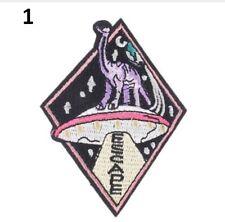 1 x UFO Dinosaur, Sew or Iron on. UFO, Mystery, Cryptozoology