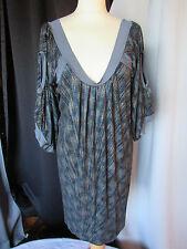 robe custo barcelona taille 1 bleu grisé métallisé