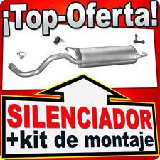 Silenciador Trasero SEAT LEON VW BEETLE GOLF IV 1.4 16V 1997-2010 Escape MNC