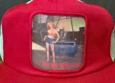 Vintage 70's 80's Trucker Snap Back Mesh Hat-C.W. Silver Co.-OOAK