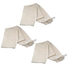 3x HQRP Dust Collector Bags for Bosch 10-inch Seris Worksite Jobsite Tablesaws