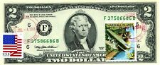 $2 DOLLARS 1995 STAMP CANCEL LEGENDARY BIPLANES WORLD WARS VALUE $99.95