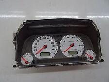 VW Golf 3 GTI 16V ABF Tacho Kombiinstrument MFA BLAU LED Silber 1H0919880N