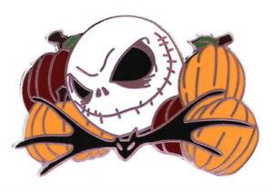 2008 Disney Jack Skellington Holiday Mystery Halloween Jack Pin N1