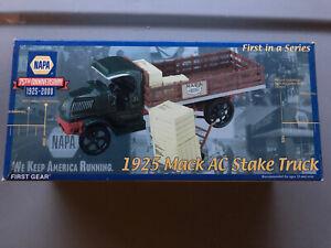 NEW 1925 Mack AC Stake Truck First Gear NAPA