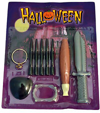24 x HALLOWEEN SPOOKY SET WITCH CRAFT PARTY BAGS WHOLESALE JOB LOTS GOODIE BAG