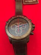 Raymond Weil Men's 7850-BSF-05207 'Nabucco' Chrono Automatic Black Leather Watch