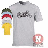 Ducati SS 90 Desmo retro racing motorbike t-shirt tee tshirt classic old bike