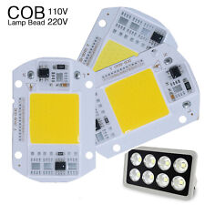 10 X 50W LED Chip LED Floodlight White COB Chip Input Integrated Smart IC Driver