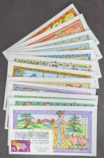 Edw1949Sell : Usa 2005 Scott #3895 Cplt set Chinese Ny Collins Hand Painted Fdc