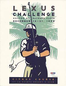 Don Shula Signed Lexus Challenge 8x10 Photo - PSA/DNA # Y95608