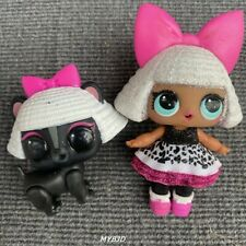 LOL Surprise Glitter Diva Dolls & Diva Stripes Pet Set Glitter Series Kids Gift
