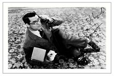 CARY GRANT - BRINGING UP BABY SIGNED PHOTO PRINT AUTOGRAPH