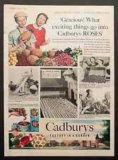 CADBURY'S ROSES Vintage Magazine Advert - Confectionery Chocolate 31 Oct 1953 *
