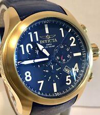 Invicta I-Force Swiss Ronda 5040D Chrono Royal Blue/Goldtone Quartz Mens Watch