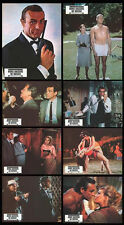 FROM RUSSIA WITH LOVE original lobby card set SEAN CONNERY/JAMES BOND