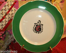 Vintage Jackson China Fall Creek PA Restaurant Knight Green White Black Red