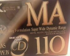 TDK MA-110 Metal Type IV Audio Cassette   Tape Made in Japan