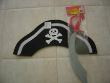 PIRATE HAT, SWORD and EYE PATCH for Kids