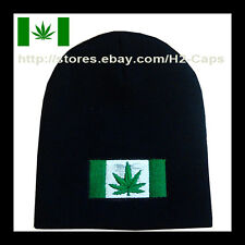 420 POT LEAF Marijuana Flag Dope Beanie Hat Ski Skate Snow Board