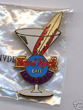 SAN DIEGO HARD ROCK CAFE MARTINI WITH SURFBOARD SWIZZLE