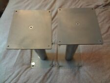 Speaker Stands Silver high 50cm FORTREX