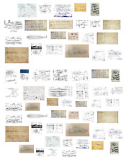 1/35 scale WW2 Blueprints (weapon,vehicle,building)decals.Model/diorama/soldier