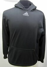 MENS S ADIDAS BLACK PULL OVER HOODED SWEATER 551