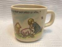 Selandia-Walt Disney Co.-Christopher Robin/Winnie The Pooh/Eeyore-Plastic Mug
