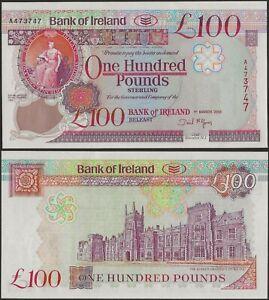 Northern Ireland P82 100 Pounds Bank of Ireland AUNC 2005 B128b DAVID MCGOWAN