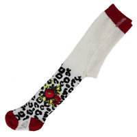 Designer Little Darlings Cream Tights Victoriana Rose  A1186 WAS £17 NOW £8.50
