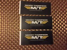 "Mickey Thompson MT RACING DECALS STICKER 4.6x2.1 INCH ""FREE SHIPPING"" offroad"