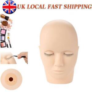 Massage Training Mannequin Flat Head Makeup Practice Eyelash Lashes Extension