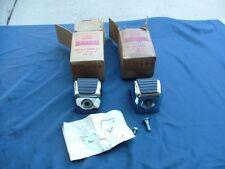 1963-64 Ford Fairlane, Meteor station wagon rear bumper step kits, 2, NOS!
