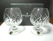 Waterford Crystal LUCERNE Brandy Glasses(2) NEW in BOX