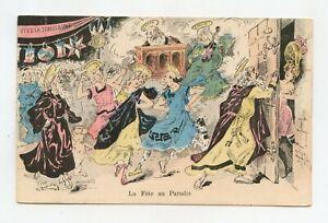 Illustrator Signé. Anti-clericalism. Long Live La Halloween. Erotic, Grivoiserie