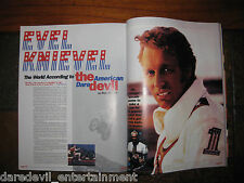 EVEL KNIEVEL 1998 POP SMEAR MAGAZINE-COLLECTIBLE- RARE to find! GREAT ARTICLE!!!